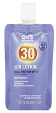 CVS Sun Lotion
