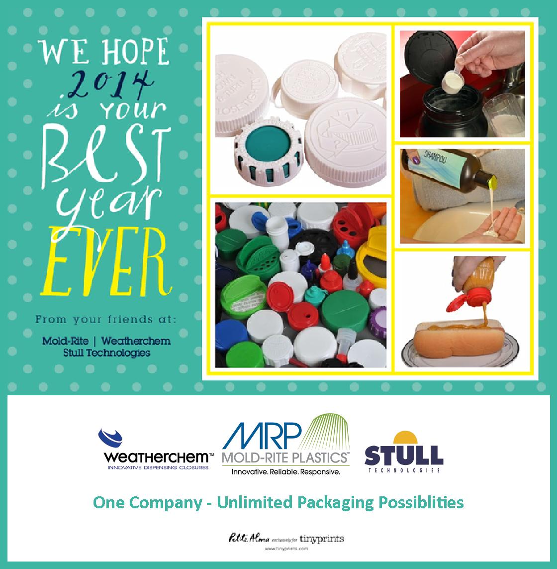 Holiday Greetings From Weatherchem, Stull Tech, & Mold-Rite Plastics