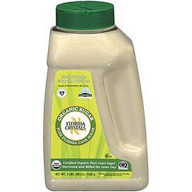 Florida Crystals Organic Cane Sugar 48 oz