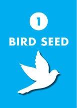 bird seed closure