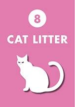 cat litter controlled dispensing closure