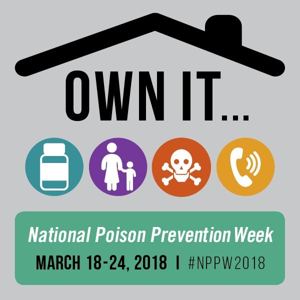 Join Mold-Rite for National Poison Prevention Week 2018