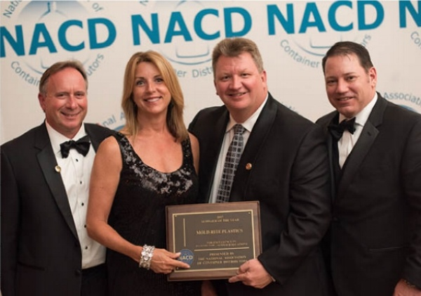 Mold-Rite Plastics named 2017 NACD Supplier of the Year