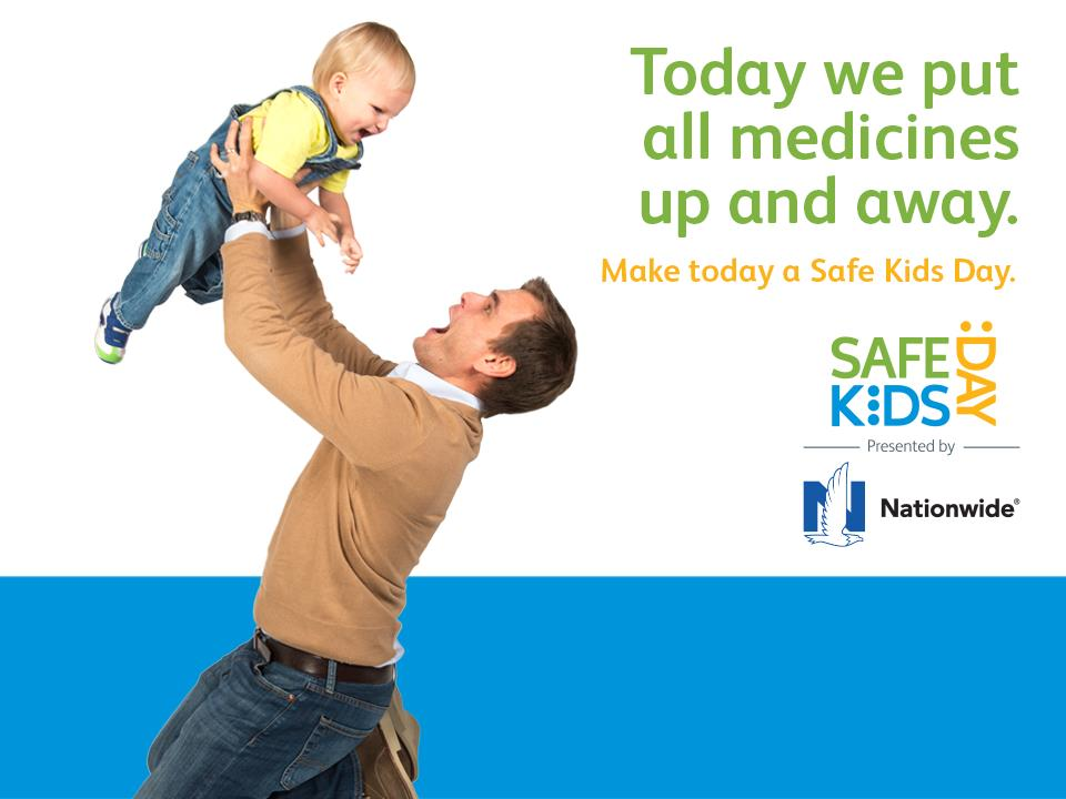 Safe Kids Day: Put Your CRC Containers Up High