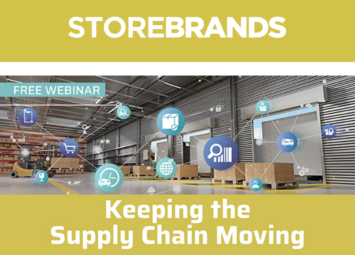 MRP Participates inStore Brands'Webinar: Keeping the Supply Chain Moving